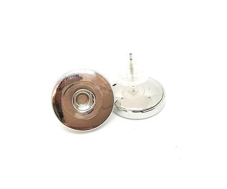 Boucles d'oreilles boutons-pression 2 18mm