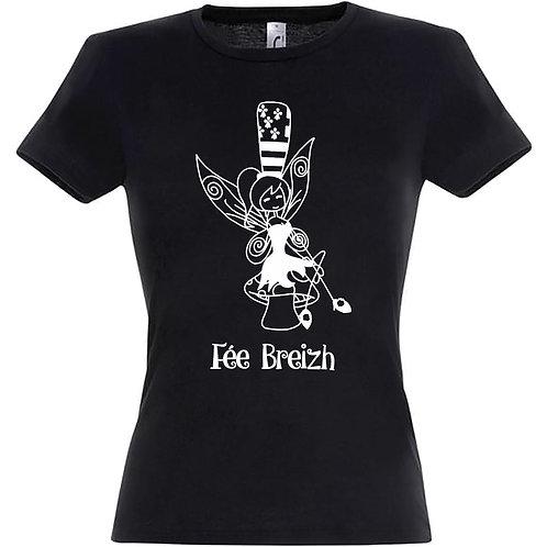 T-shirt femme - Fée Breizh