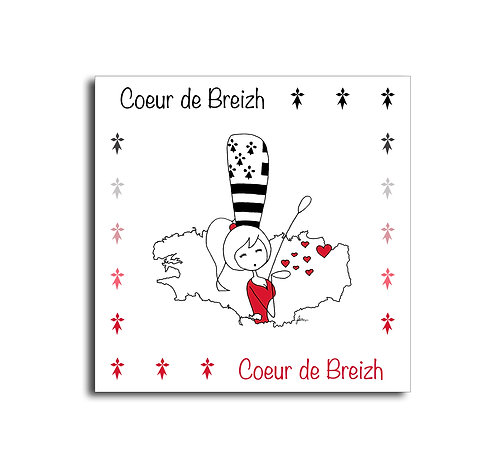 Carte - Coeur de Breizh