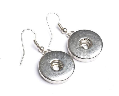 Boucles d'oreilles boutons-pression 18mm