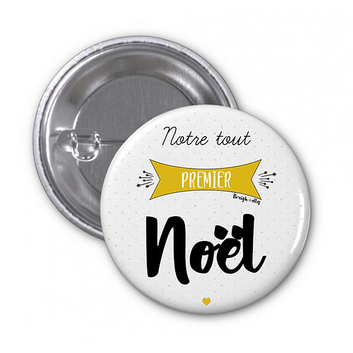 Badge - Premier Noël