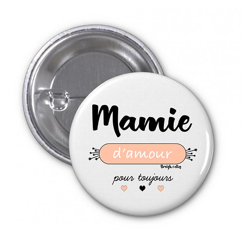 Badge - Mamie d'amour