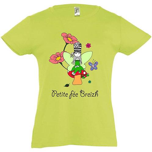 T-shirt enfant - Petite fée Breizh