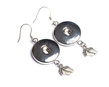 Boucles d'oreilles boutons-pression petits petons 18mm
