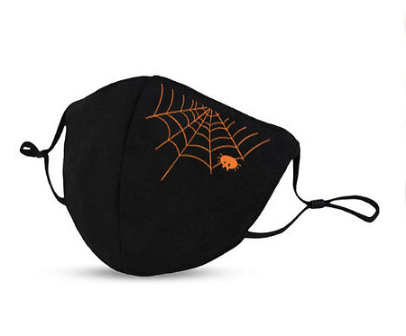 Masque Halloween araignée