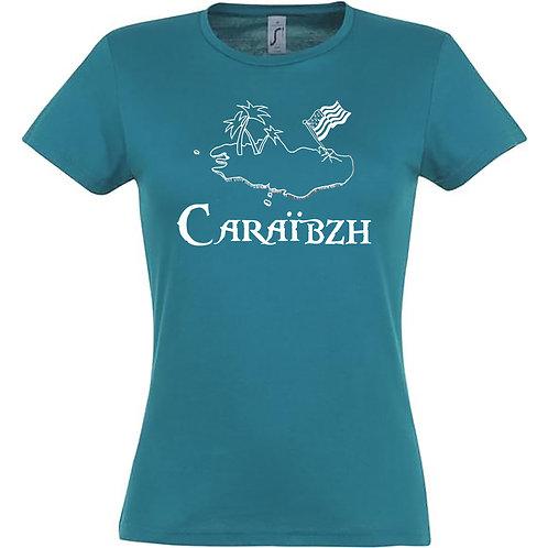 T-shirt femme - CARAÏBZH