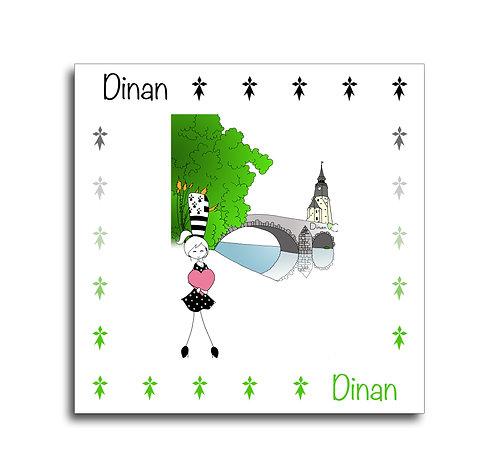 Carte - Dinan