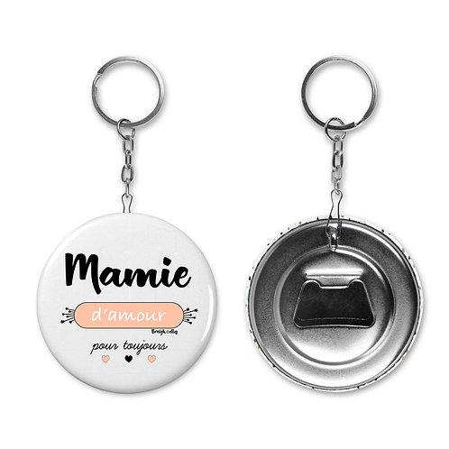 Porte-clé / Décapsuleur - Mamie d'amour