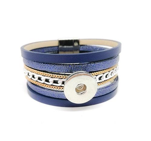 Bracelet en cuir ZE211 18mm