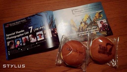 葉山のダイビングショップNANAの7周年パーティーと記念写真集