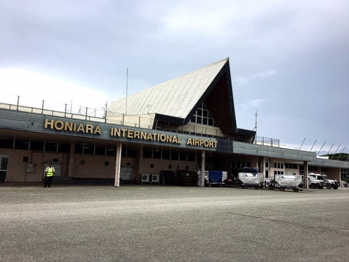ソロモン諸島ホニアラ(ガダルカナル島)へ!