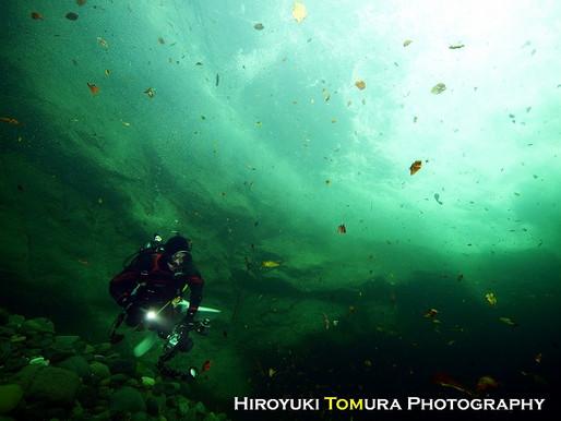 秋保大滝の滝壺ダイビング!