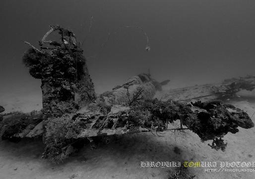 九七式艦上攻撃機(天山)水深37m