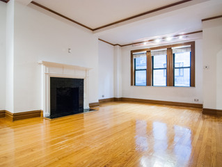Spacious One Bedroom with Fireplace in Prewar Elevator Building - One Block to Central Park - Columb
