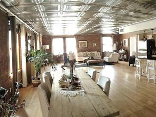 Spacious 4000sq.ft Four Bedroom Full Floor Loft - Exposed Brick - Skylights - Roof Deck