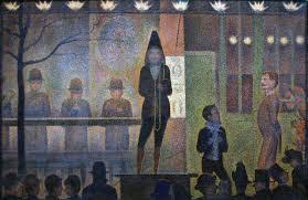 Metropolitan Museum of Art: Seurat's Circus Sideshow