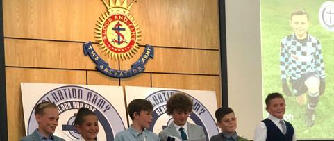 U11 Saints Presentation