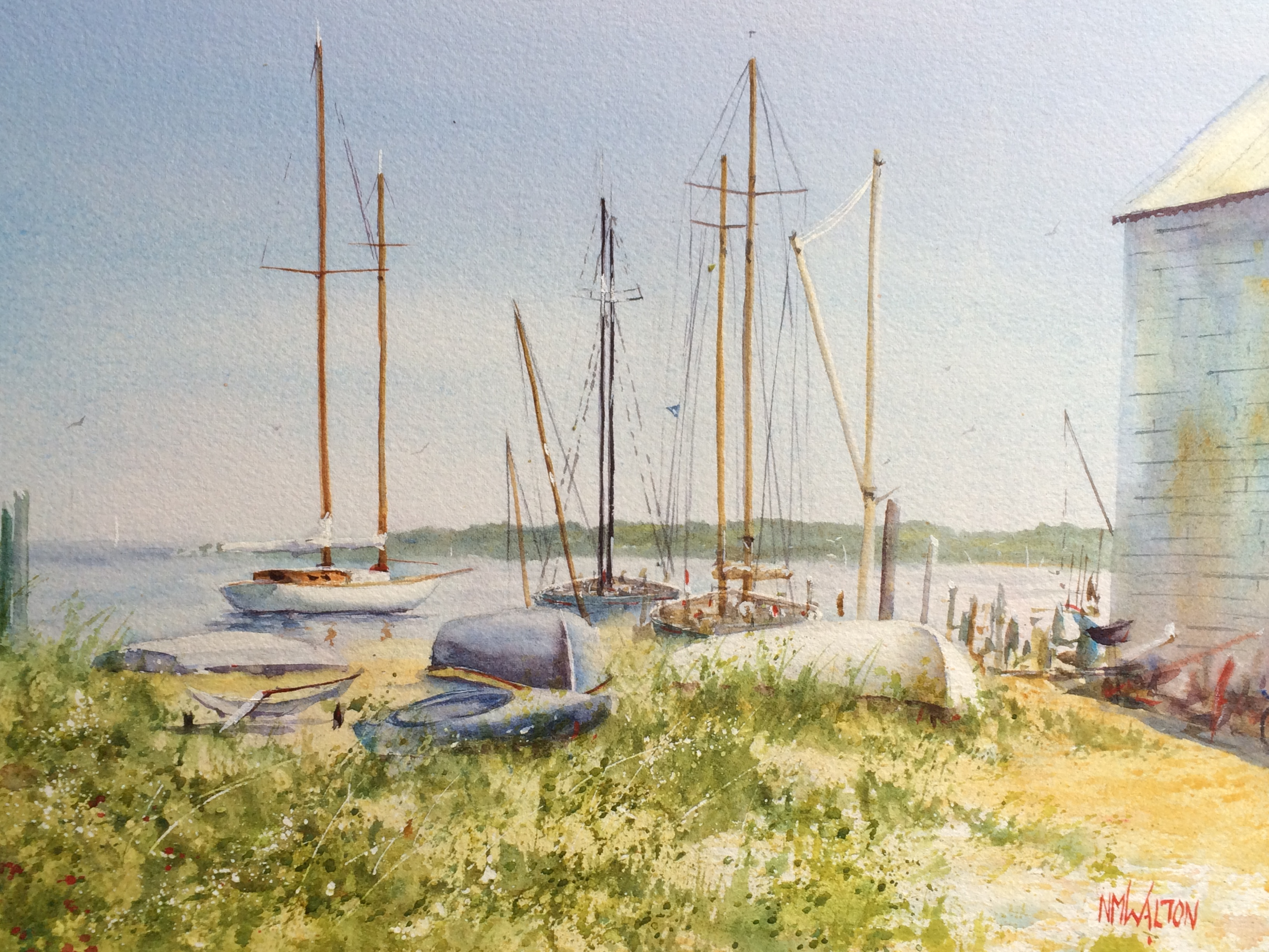 Vineyard Haven Boatyard