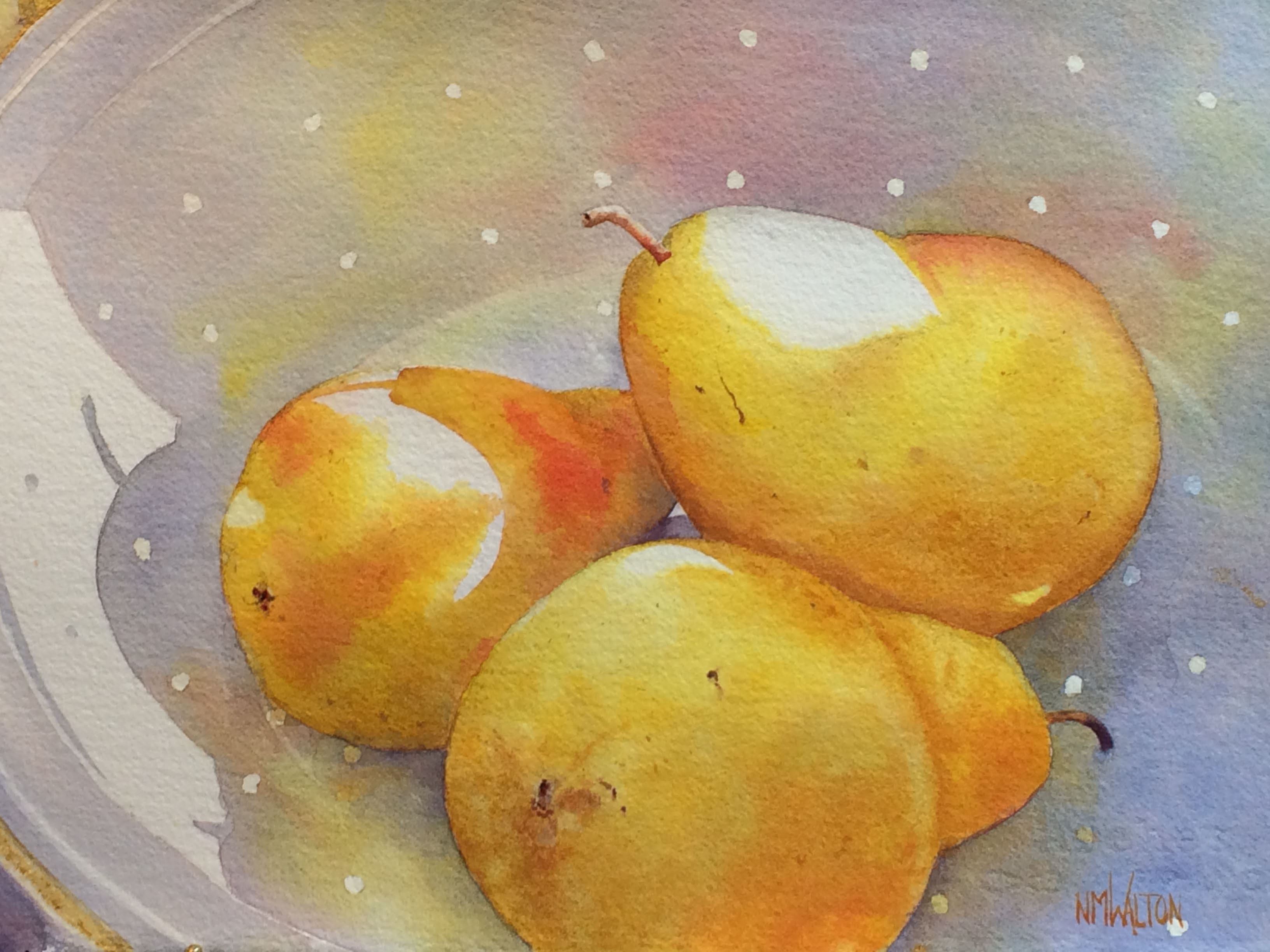 Still-life with Pears