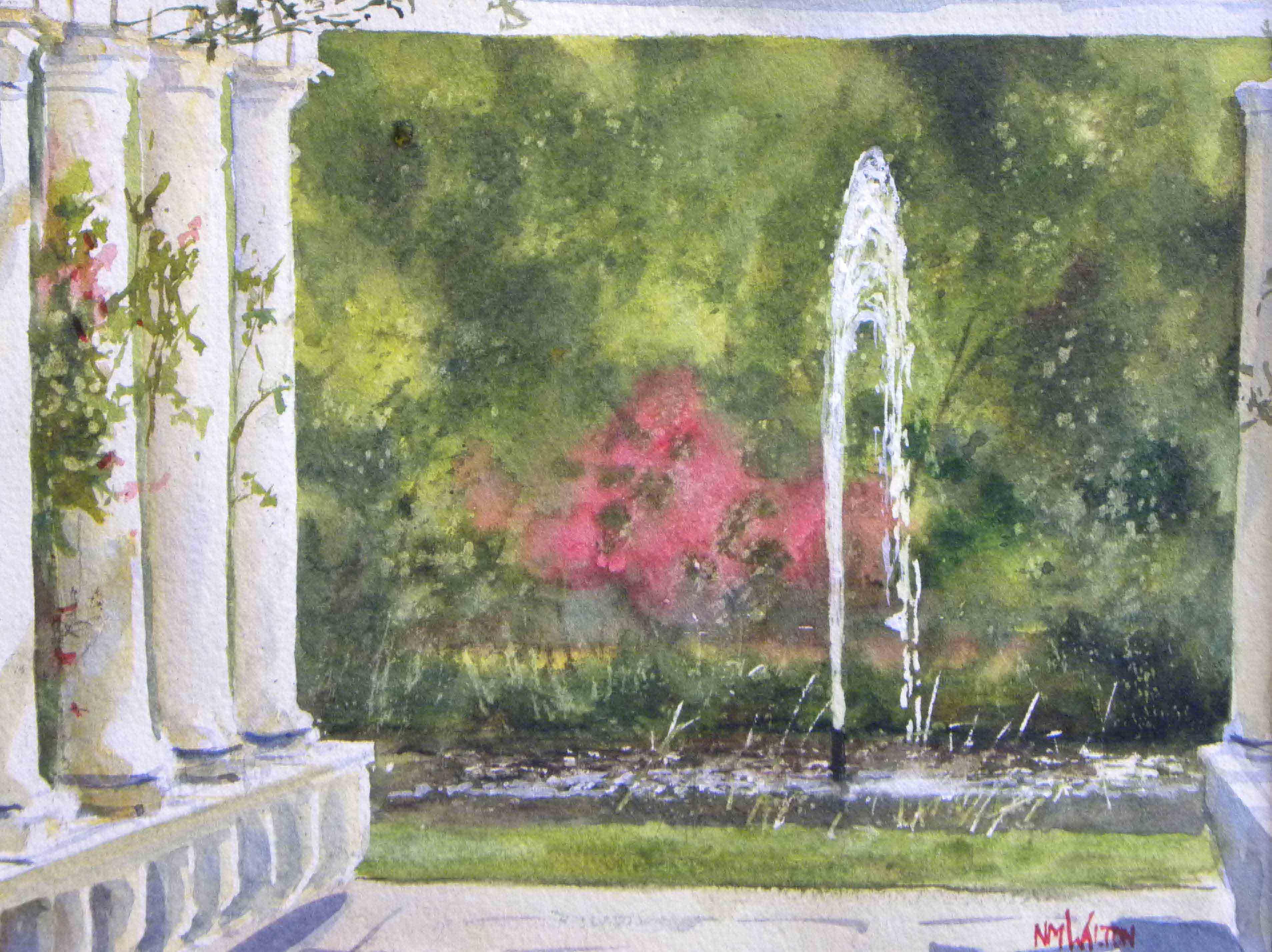 In the Garden - Edgartown