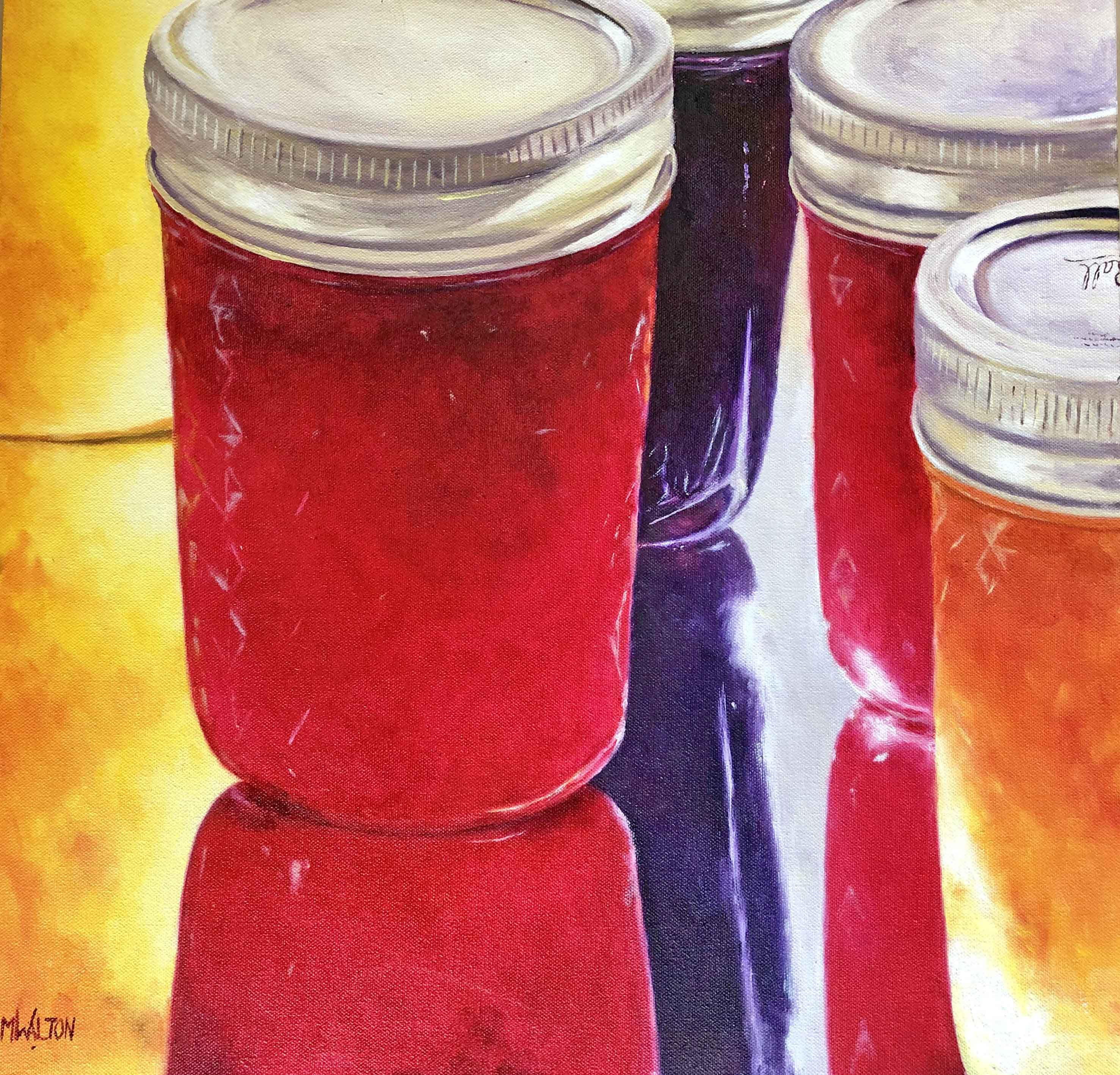 Three Jams and a Jelly - oil-1