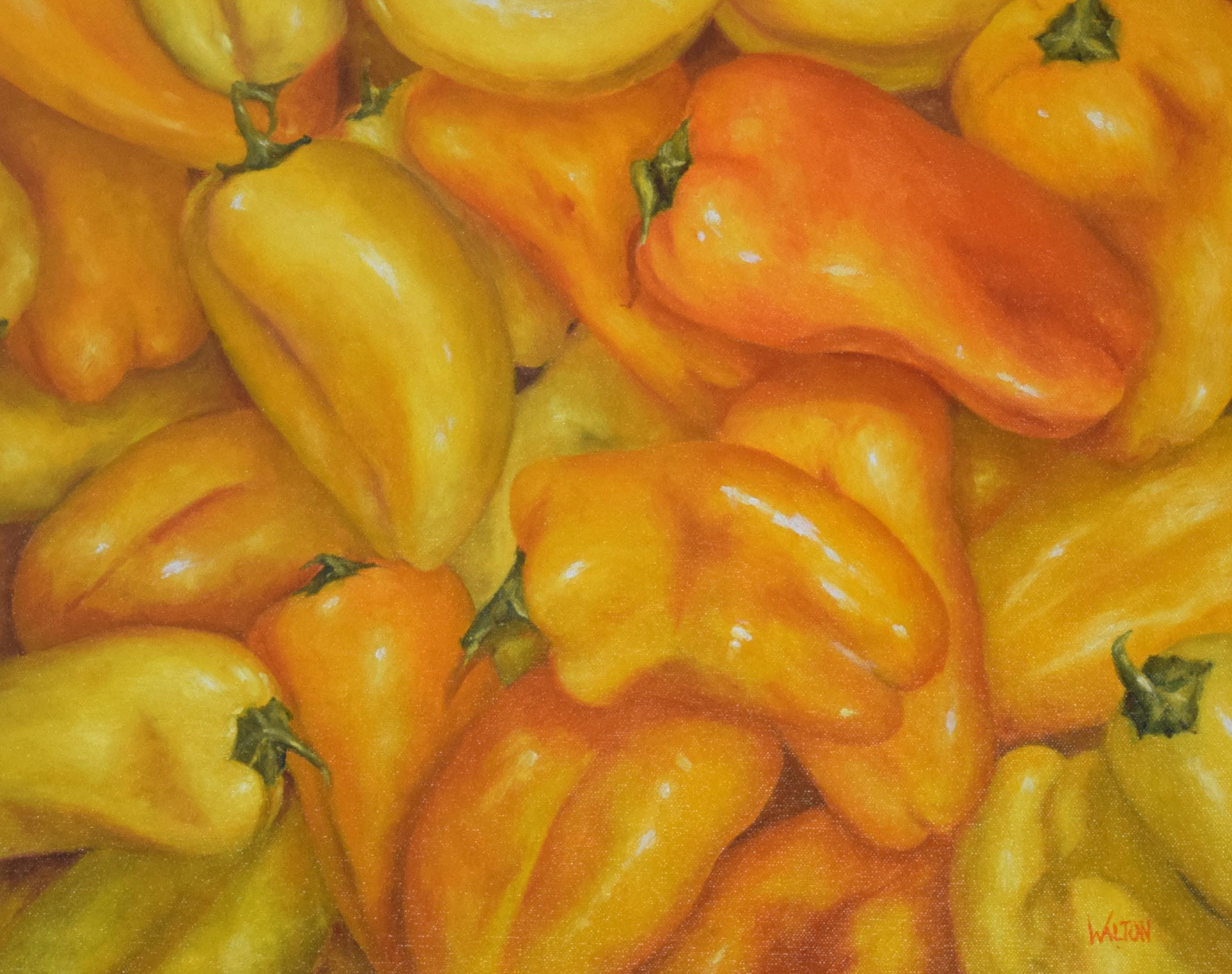 Plenty of Peppers -oil