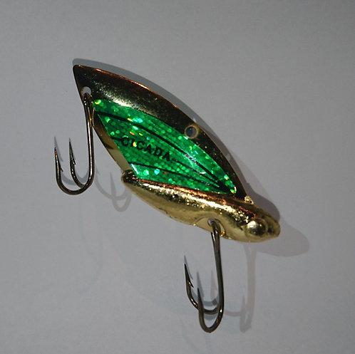 202 Gold Hot Green