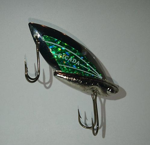 102 Silver Hot Green