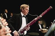 Man Playing Bassoon