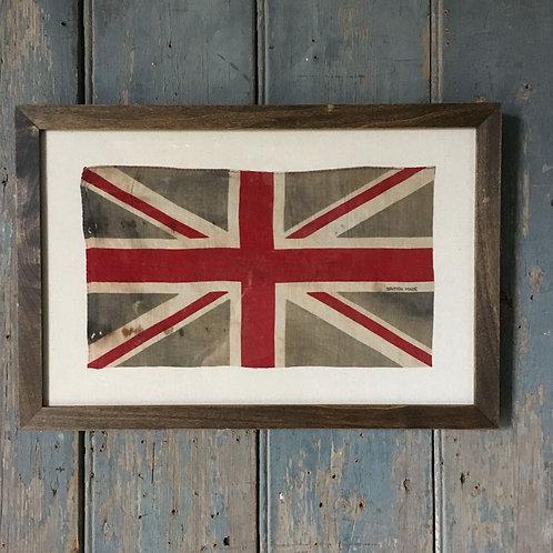 NOW SOLD - Vintage framed Union Flag