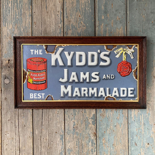 NOW SOLD - Vintage enamel sign - Kydd's Marmalade