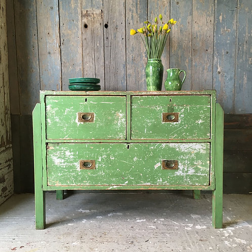 NOW SOLD - Victorian Pine Campaign Drawers