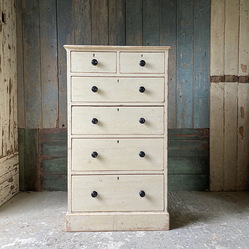 NOW SOLD - Antique painted chest of drawers