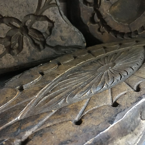 NOW SOLD - Georgian decorative plaster moulds