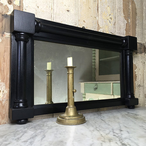 NOW SOLD - Victorian overmantle mirror