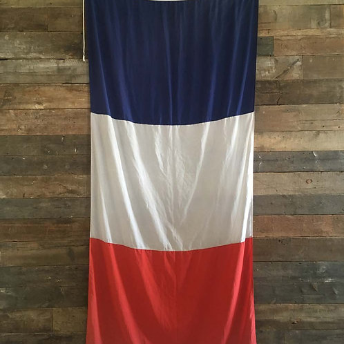 NOW SOLD - Large French national flag - 'Tricolore'