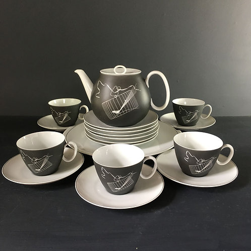 NOW SOLD - Vintage Raymond Loewy china tea set
