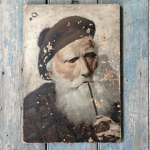 NOW SOLD - Oil painting - Scottish gentleman portrait