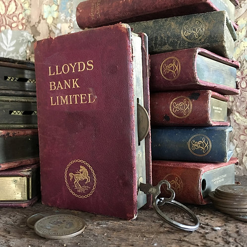 NOW SOLD - Lloyds Bank money box 'books'