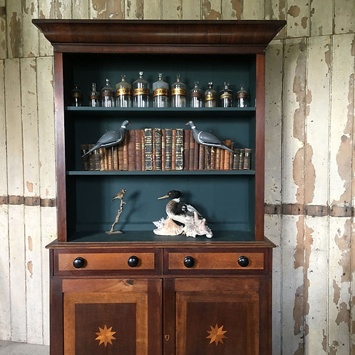 NOW SOLD - Antique oak bookcase dresser