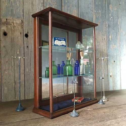NOW SOLD - Victorian chemist's shop display cabinet
