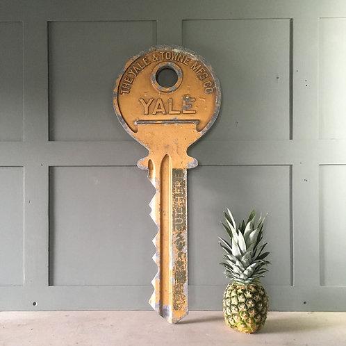 NOW SOLD - Large vintage shop display - Yale key