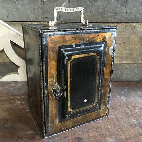 NOW SOLD - Jones Brothers Toleware Cash Box