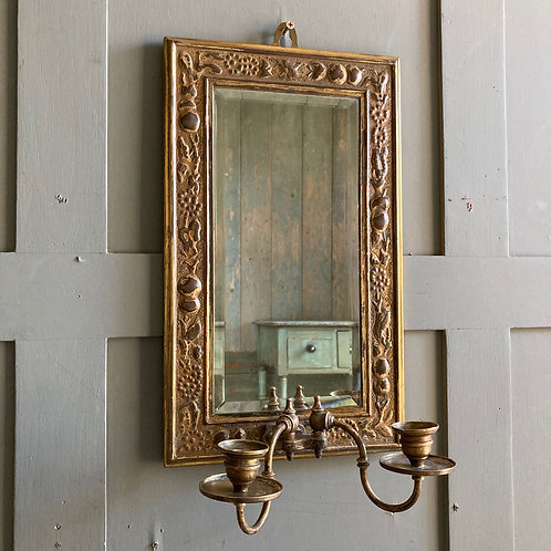 NOW SOLD - Arts & Crafts brass mirror