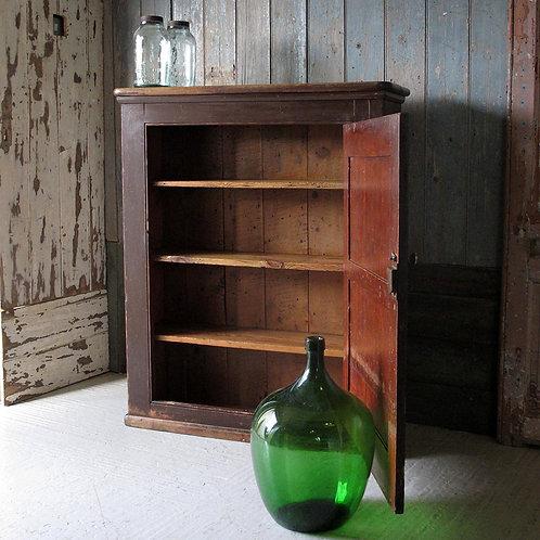 19th century pine cupboard