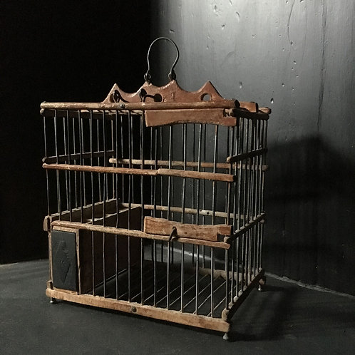NOW SOLD - Vintage bird cage