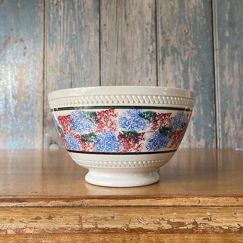 NOW SOLD - Antique spongeware bowl