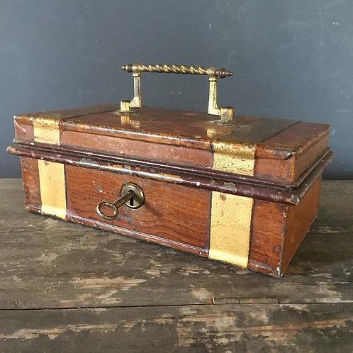 NOW SOLD - Victorian Tole cash box