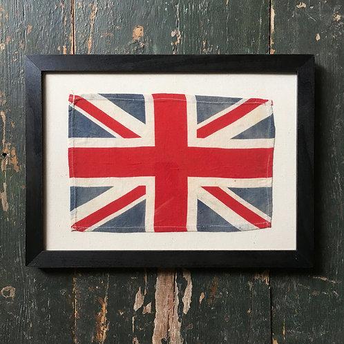NOW SOLD - Vintage Union Flag - 'L'