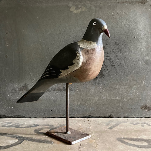 NOW SOLD - Antique decoy pigeon - James Rolph